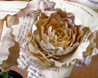 Paper Peony - Made to Order