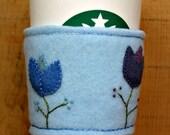 Tulips Spring Felt Cup Cozy