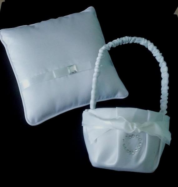 Flower Girl Basket Kit : Diy bride crafts flower girl basket and ring bearer pillow