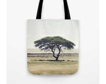African Tree Tote Bag