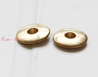 10 Pieces / Raw Brass / Pendant / Charm / Dount / Spacer / Round 12mm (CX1723//P341)