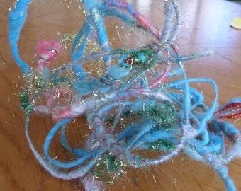 Handspun Wire Yarn, Memory Yarn, Sculptured Yarn