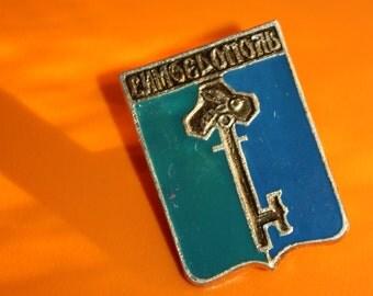 Vintage Rare Pin - Russian Pin