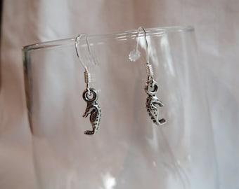 Sea Horse Earrings, earrings, sea horse