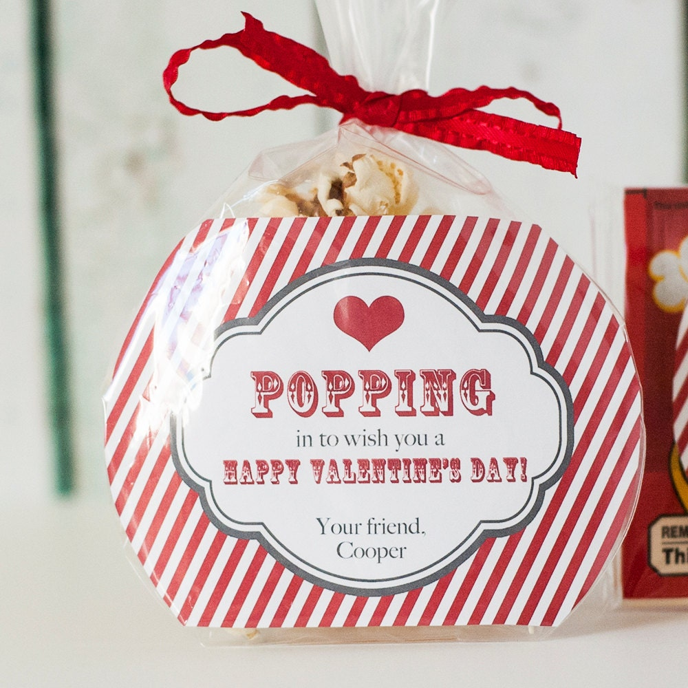Astounding image within popcorn valentine printable