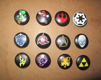 Assorted Sci-Fi Dresser Knobs