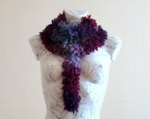 Extra long scarf winter scarf chunky knit scarf hand knit scarf accessories winter scarf handmade scarf winter scarf for women ruffle scarf
