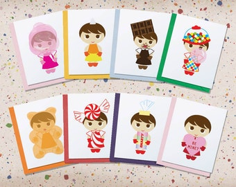 Flavorgirl Candy Card Set