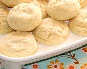 Soft Vanilla Shortbread Cookies
