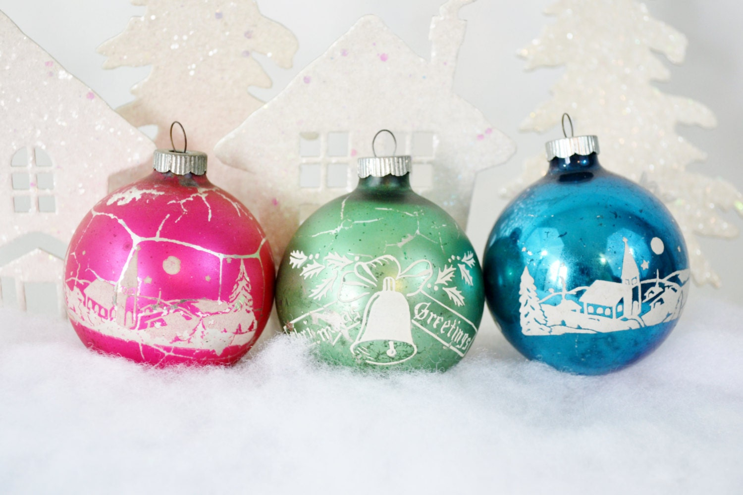 Shiny Brite Vintage Christmas Ornaments by ...