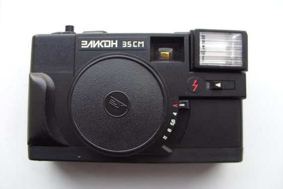 Elicon 35CM Elikon 35SM Vintage Compact Soviet 35mm Film Camera Lomography USSR