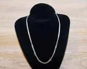 Vintage Necklace Italian 925 Sterling Silver Chain Wedding Party Prom Christmas Gift for Her
