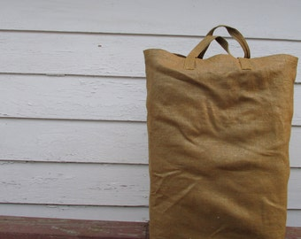 Bown Large Cary-all // On the Go Bag // Reusable Grocery Bag // Stylish tote bag