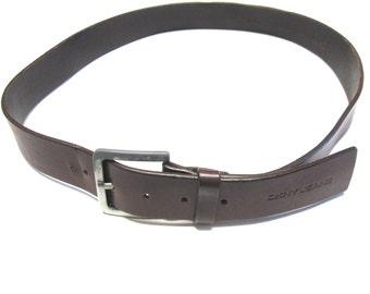 Mens Brown Belt Leather Size 36