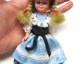 Vintage Doll Swedish Scandinavian Heidi Style