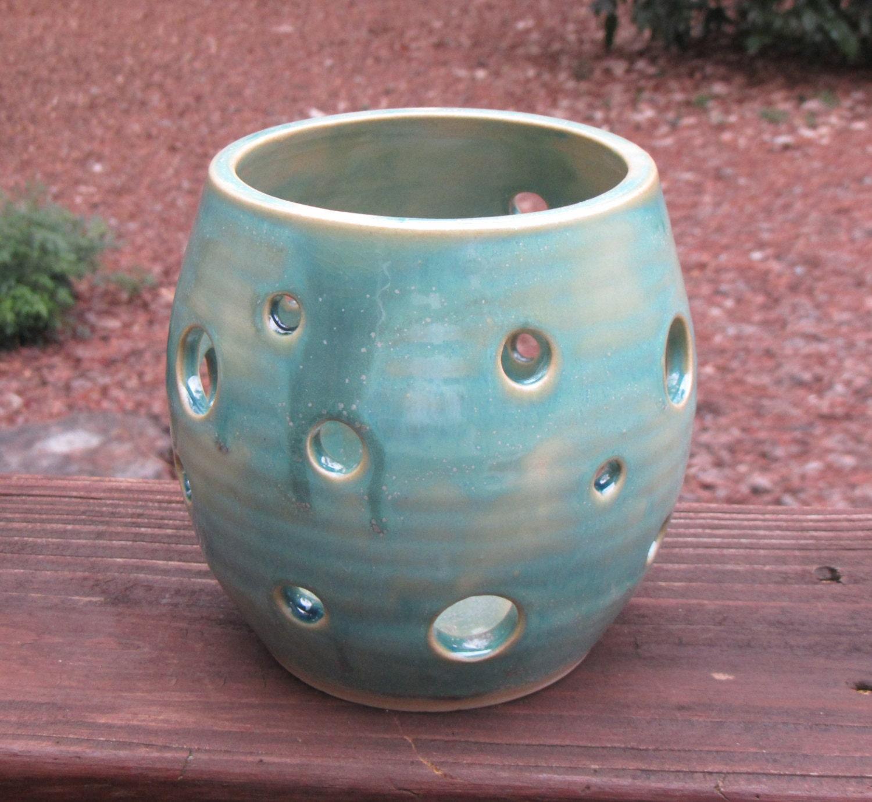 Ceramic Votive Candle Holder Luminary Tea Light Holder