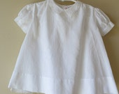 White Batiste Christening Dress Slip Hand Made Philippines 23a