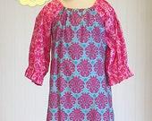 Ava Peasant Dress Sewing Pattern- Peasant Dress Pattern- Instant Download PDF Peasant Dress Sewing Pattern Long Sleeve Peasant Dress Pattern