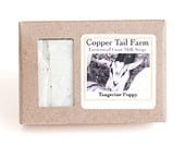 Organic Tangerine Poppy Goat Milk Soap