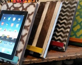 IPad, Tablet, Kindle, wood stands, Kitchen decor