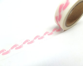 Pink Washi Tape - Baby Shower Washi Tape - Washi Tape Sale