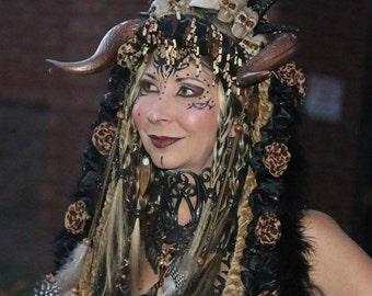 Voodoo Tribal Headdress