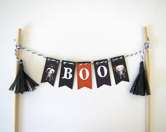 Halloween cake topper, Boo cake topper cake topper by Kiwi Tini, boo, halloween, cake, party