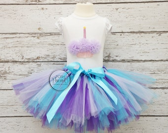 purple and turquoise tutu, girls first birthday tutu outfit, girls tutu, first birthday outfit, baby tutu, girls tutus, 1st birthday tutu,