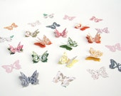 Butterfly Confetti, Garden Party, Spring Wedding Accent, Bridal Shower, Baby Shower, Layered Butterflies