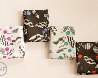 Fat Quarter Bundle Follie Skullan, 4 Pieces, Lotta Jansdotter, Windham Fabrics, 100% Cotton Fabric, 39272