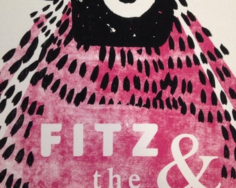 Fitz and thr tantrums official gig poster