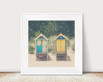 beach photograph beach hut photograph beach house decor wells next the sea photograph beach print architecture photograph