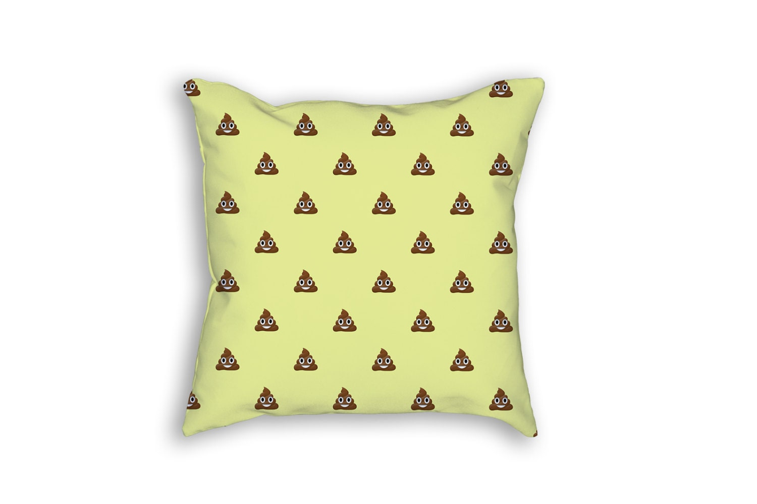 Poop Emoji Throw Pillow : Emoji Poop Pillow by BlackBonePress on Etsy
