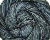sw merino nylon high twist sock yarn STAR TREK into DARKNESS hand dyed fingering weight 3.5oz 400 yards
