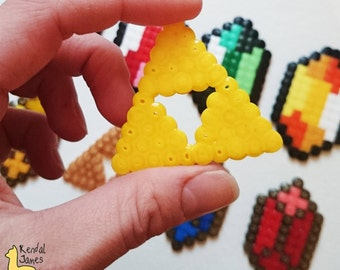 Gold or Yellow Triforce - Zelda Christmas decoration