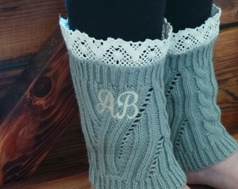 Gift For Her, Personalized Boot Cuffs, Gift For Women,