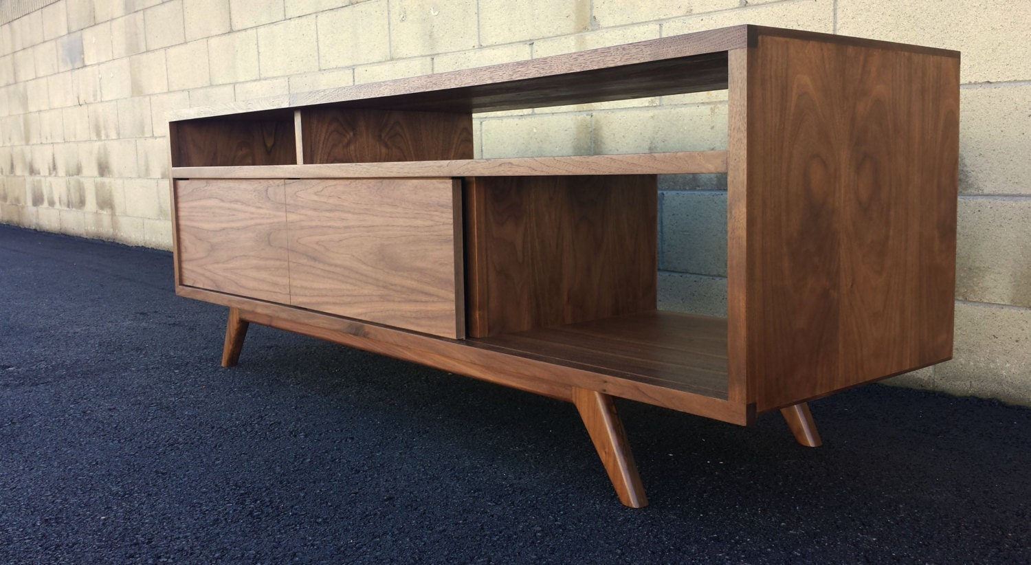 Mid Century Modern Danish Modern Tv Console Tv Stand By