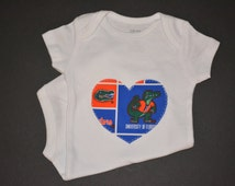 Popular items for florida gator baby on Etsy