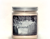 Soy candle, soy candles handmade, soy wax candle, scented soy candles, hand poured soy candles, graveyard dirt, cemetery candle, holy ground