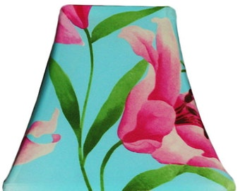 Hawaiian Lily - SLIP COVERS for lampshades