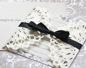 Kaleidoscope Lasercut Wedding Invitation