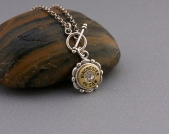 Choice 40 SW Necklace-Winchester 40 SW Bullet Necklace-Federal 40 SW Bullet Pendant-Hornady 40 Bullet Pendant-Bullet JewelryRemington 40