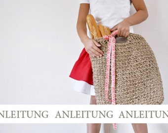 NATURKINDER Pattern for Juteyarn Shoppingbag