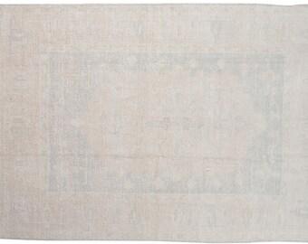 6x8 Vintage Oushak Carpet