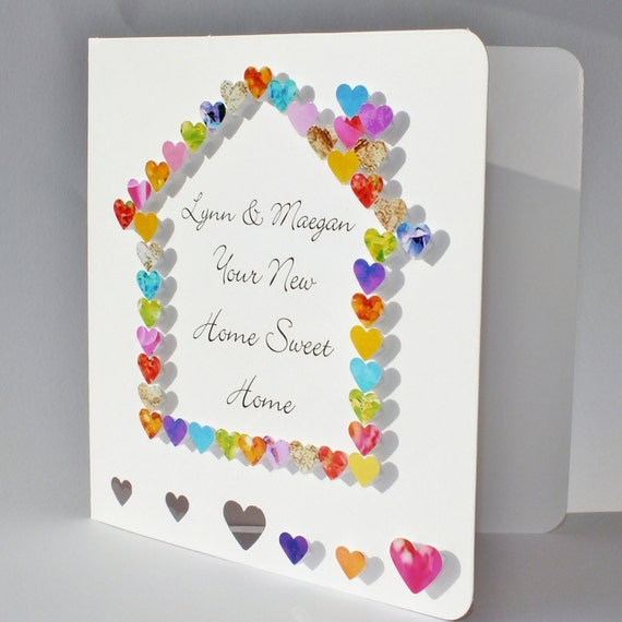 handmade 3d new home card personalisedcardsbygaynor on