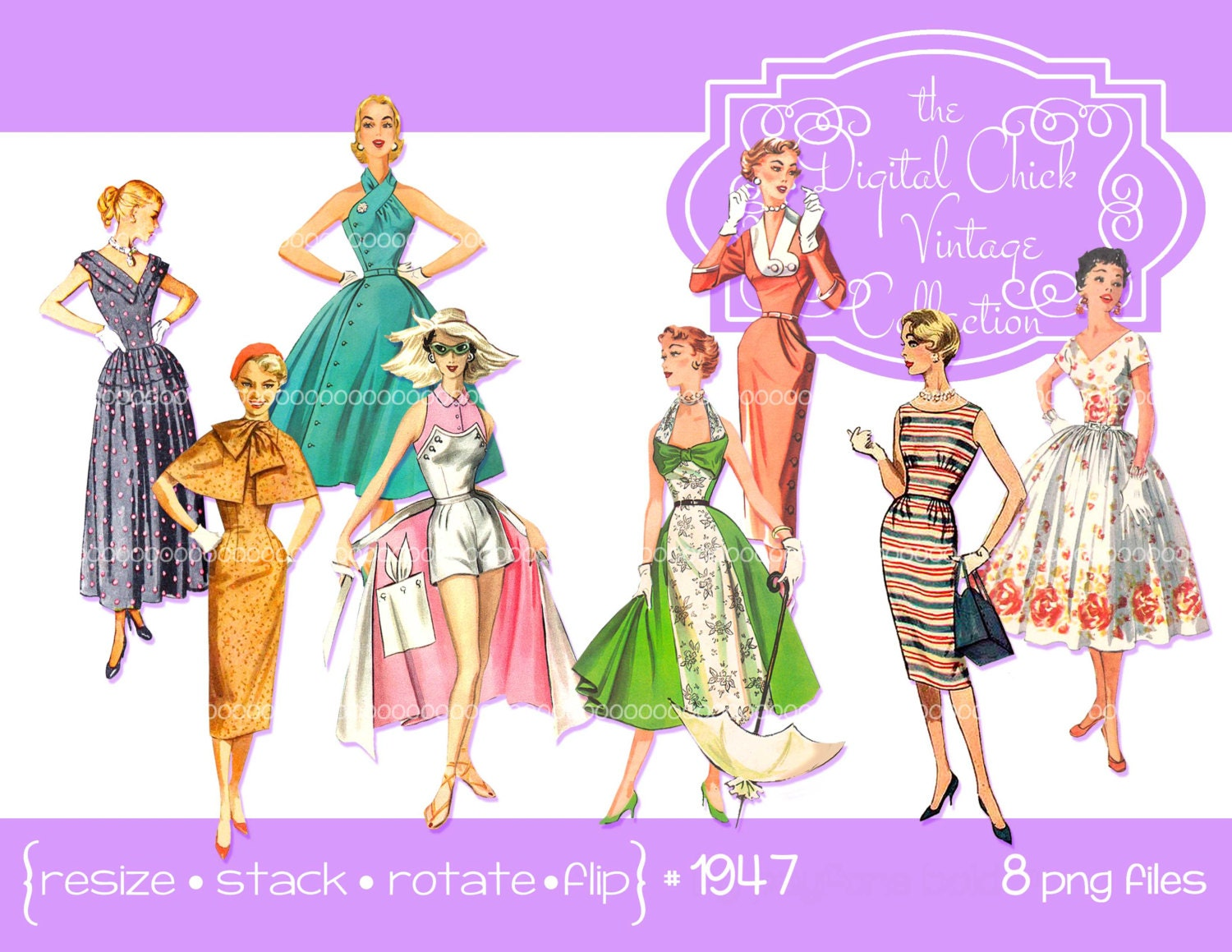 Fashion for women clip art -  Zoom