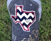 Texas State University Bobcats Baseball Bling Ladies Womens Trucker Hat