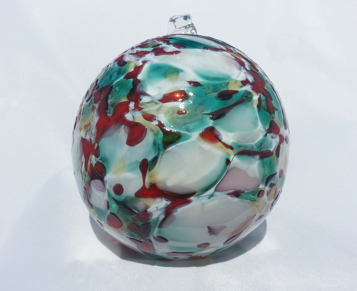 Blown glass ball ornaments handmade decorations christmas mix