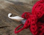 Handcarved Crochet Hook - Irish wood