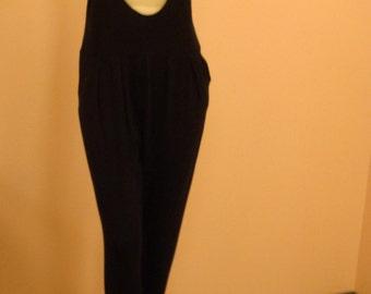 Black stretch onepiece